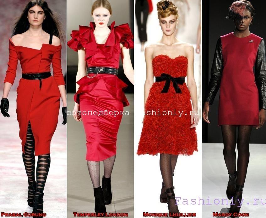 В чем встречать Новый Год 2012 фото