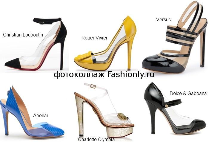 Фото модных туфель 2012 года