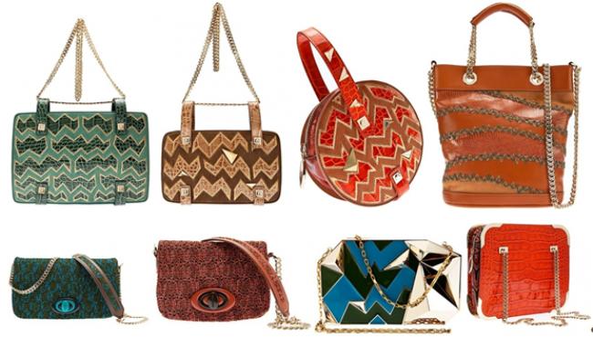 Осенне-зимняя коллекция 2013. Модные сумки Missoni