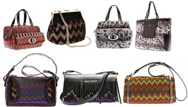 Осенне-зимняя коллекция 2013. Модные сумки Missoni Image