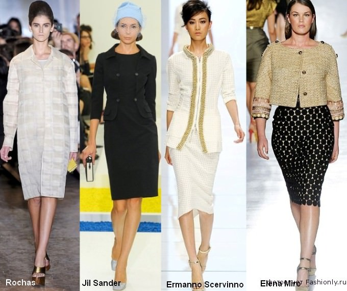 Модная одежда весны 2012