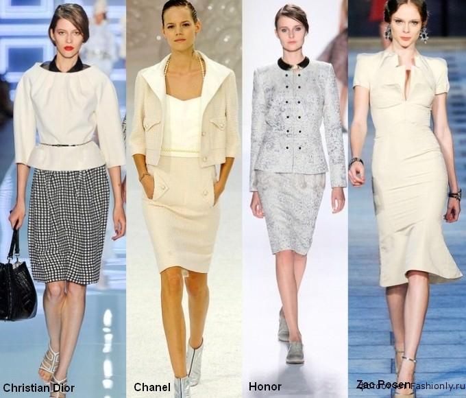 Фото модной одежды 2012