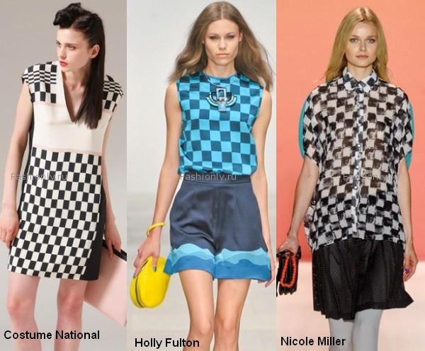 Самые модные принты весны 2012