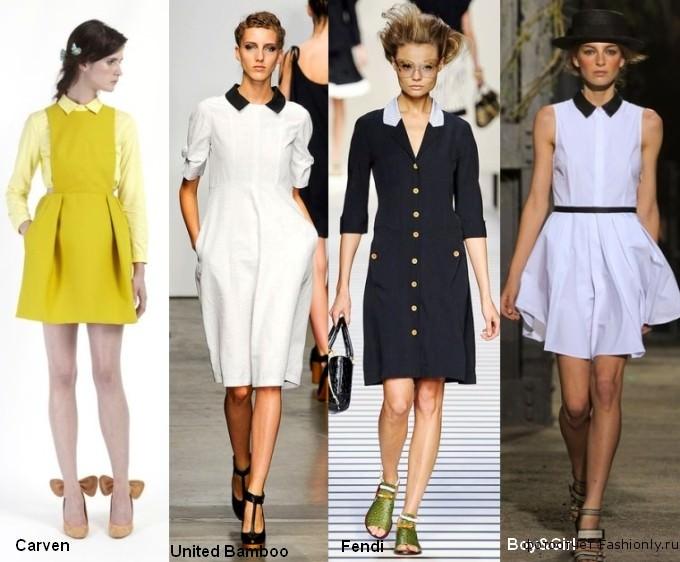 Фото модной одежды весны 2012 года