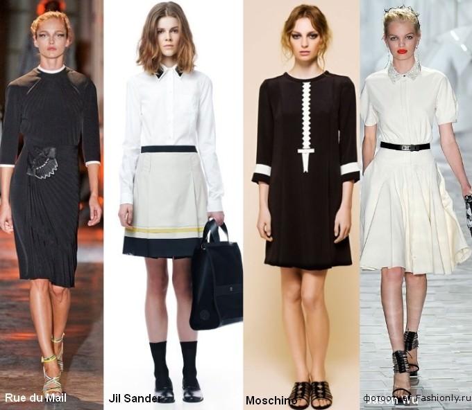 Фото модной одежды 2012 года - весна лето