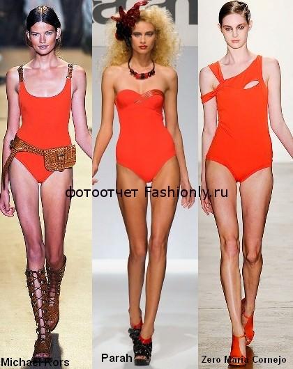 Модные цвета 2012 — весна лето Tangerine-color-of-2012