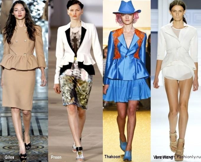 Самая модная вещь весні 2012 вещь с баской