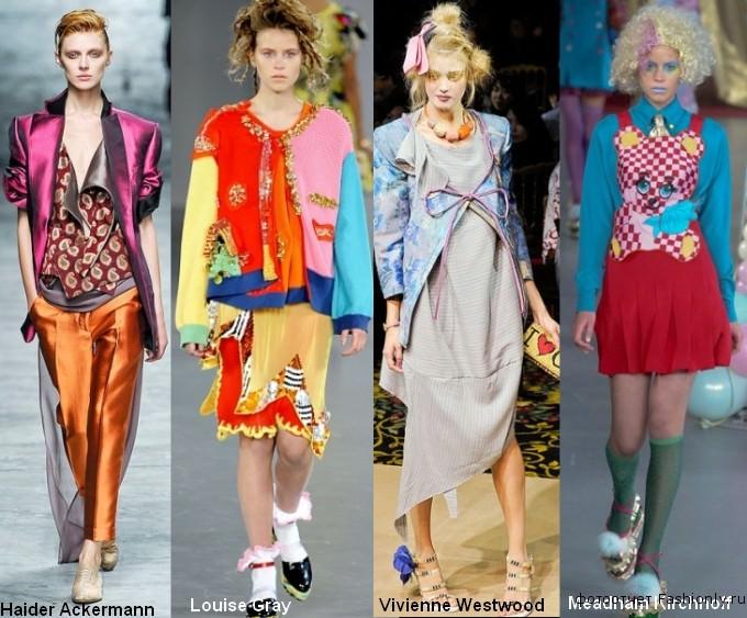 Модные стили 2012