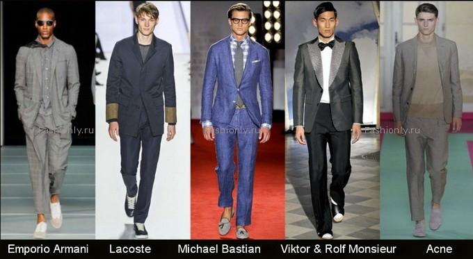 Весна 2012 мода мужская