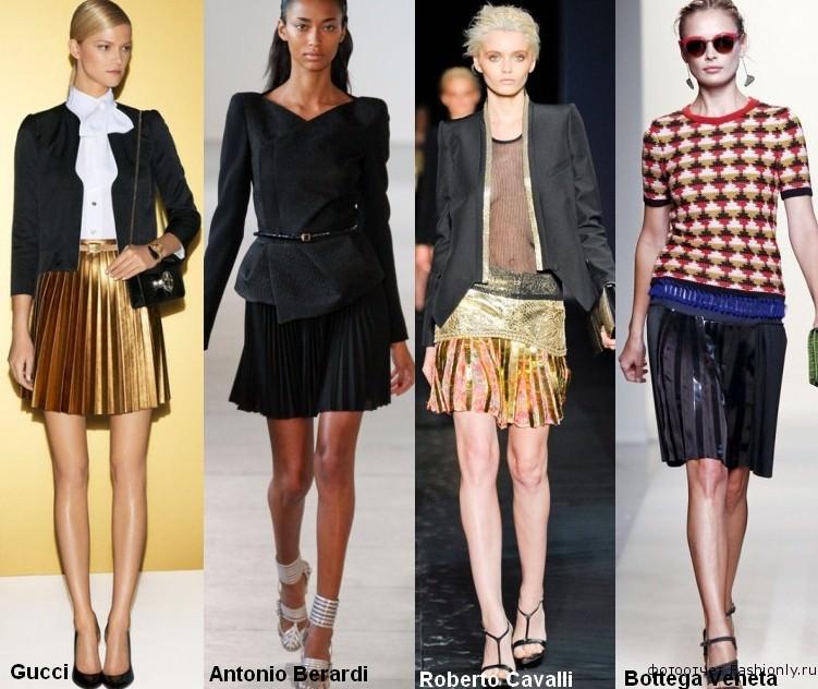 Фото модных вещей 2012 года - весна