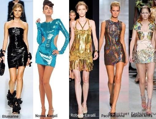 Летние платья 2012 года для клубов и дискотек