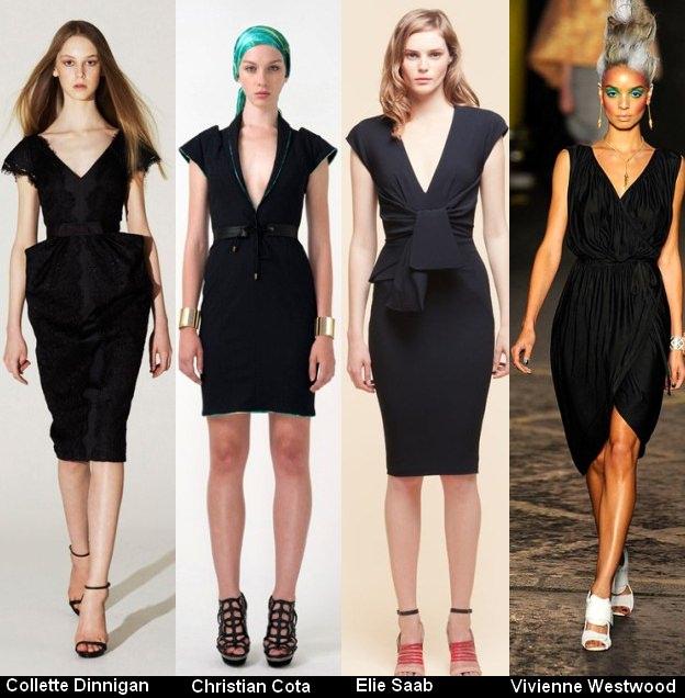 Платья черного цвета 2012 (3)
