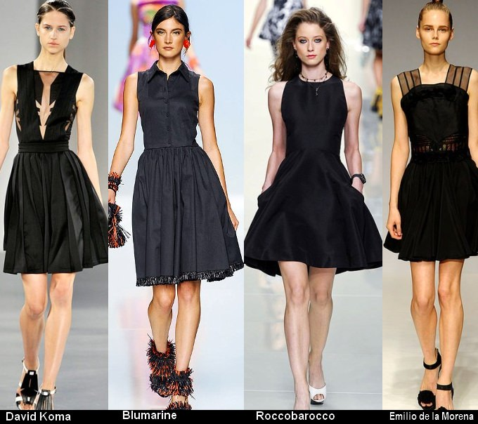 Платья черного цвета 2012 (1)