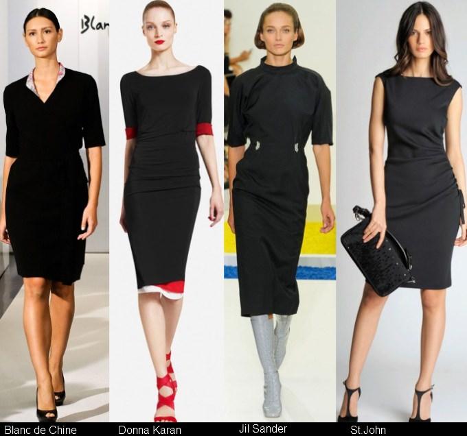 Платья черного цвета 2012 (11)