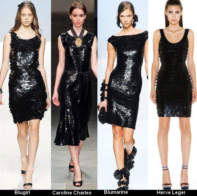 Платья черного цвета 2012 (10)
