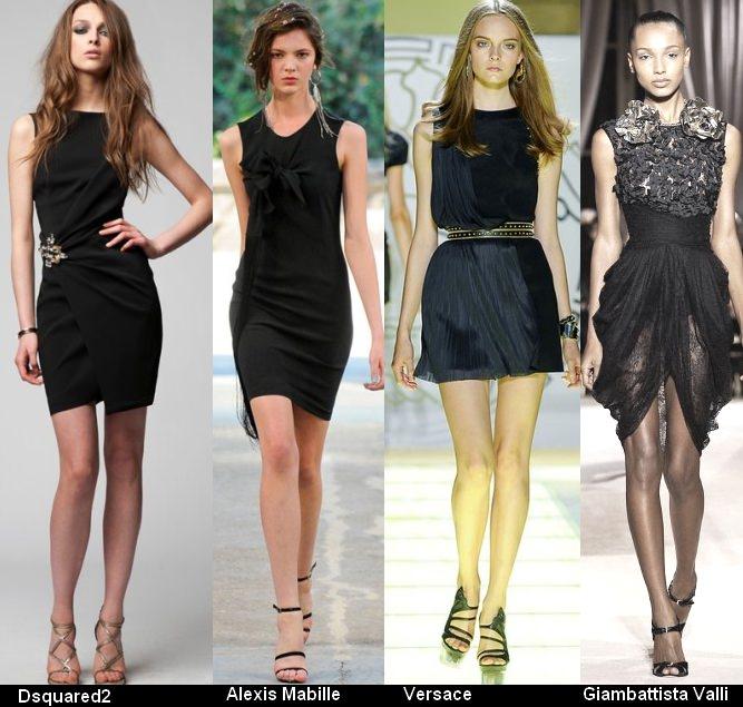 Платья черного цвета 2012 (9)