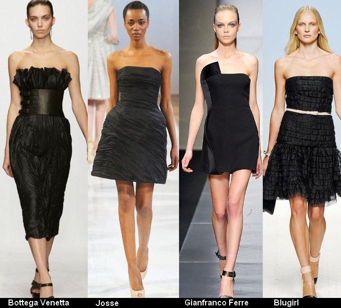 Платья черного цвета 2012 (8)