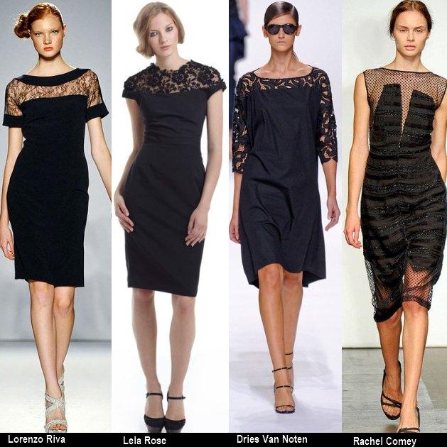 Платья черного цвета 2012 (6)