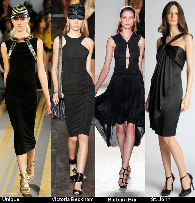 Платья черного цвета 2012 (5)