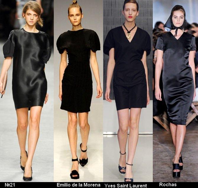 Платья черного цвета 2012 (4)