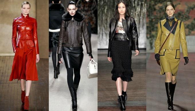 Кожаная куртка - с чем носить? (5)