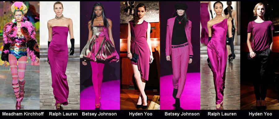 Модные цвета осени 2012