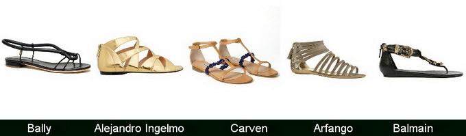 Летняя обувь 2012 — от шпилек до шлепок Image