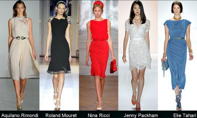 Модные вечерние платья 2012 фото (12)