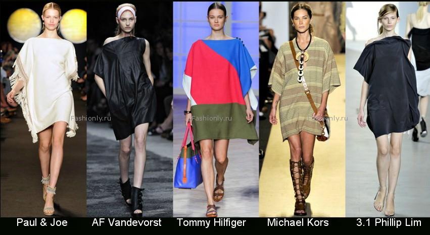 Модные фасоны платьев 2012 фото (14)