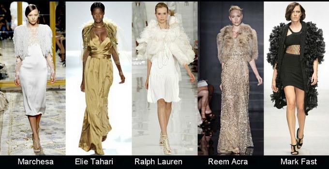 Модные вечерние платья 2012 фото (11)