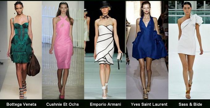 Модные вечерние платья 2012 фото (10)