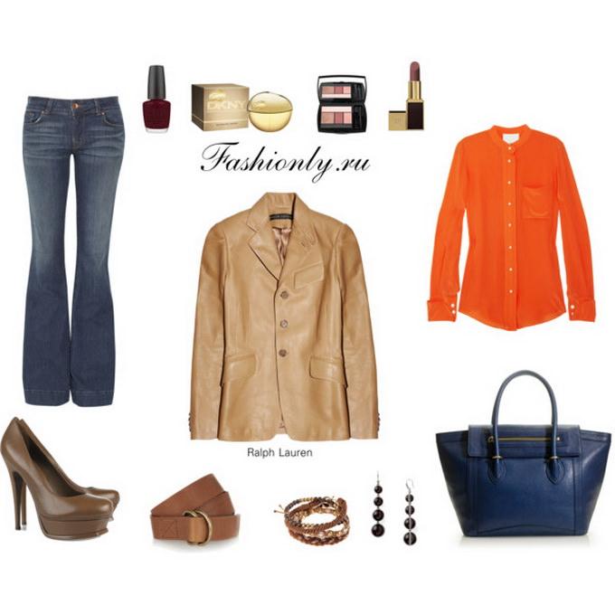 Кожаная куртка - с чем носить? (2)