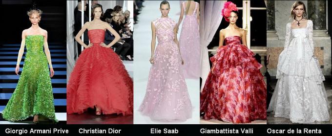 Модные вечерние платья 2012 фото (8)