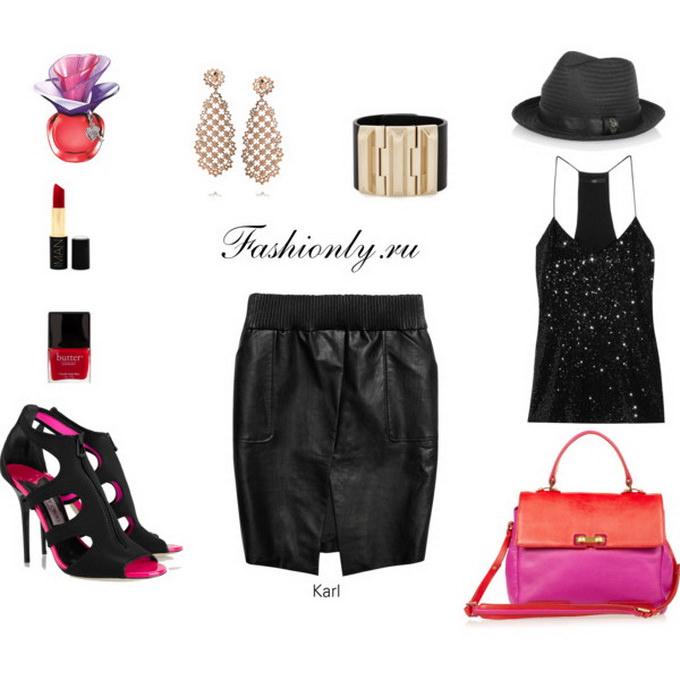 С чем носить юбку тюльпан (5)