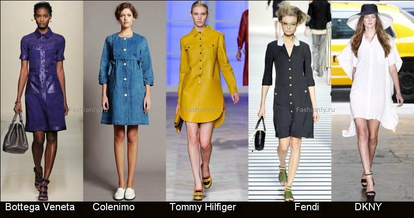 Модные фасоны платьев 2012 фото (9)