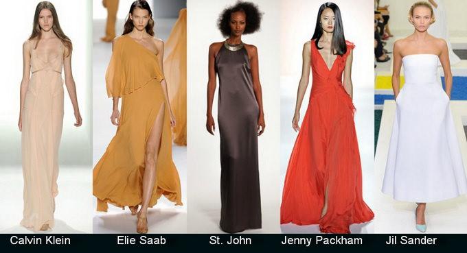 Модные вечерние платья 2012 фото (6)