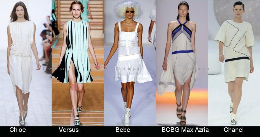 Модные фасоны платьев 2012 фото (8)