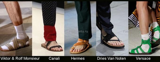 Мужская обувь лета 2012