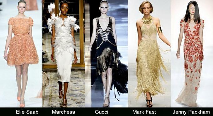 Модные вечерние платья 2012 фото (5)