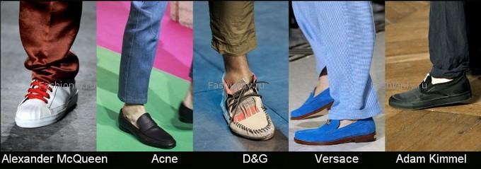 Летняя мужская обувь 2012 года