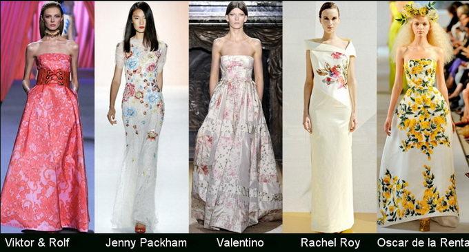 Модные вечерние платья 2012 фото (4)
