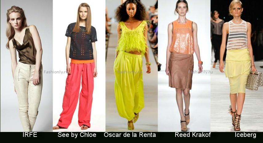 модные летние майки 2010 от mango на фото.