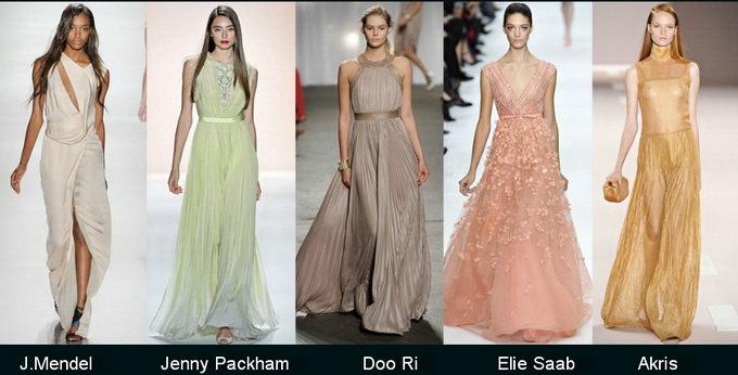 Модные вечерние платья 2012 фото (2)