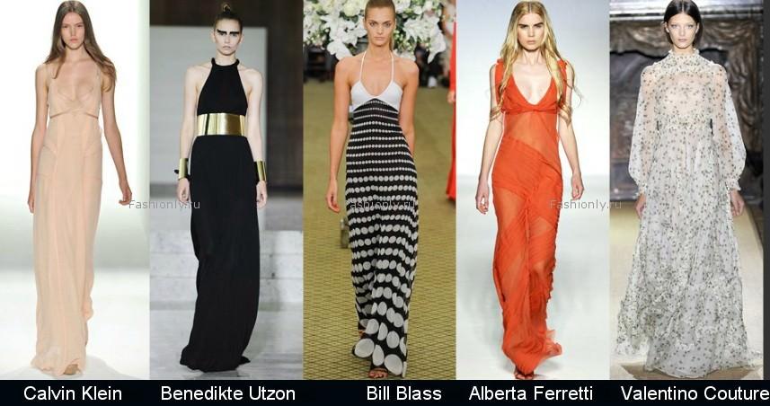 Модные фасоны платьев 2012 фото (4)