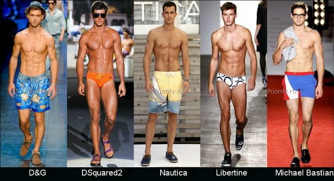Мужская мода лета 2012 года
