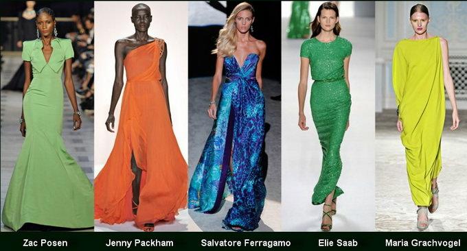 Модные вечерние платья 2012 фото (1)