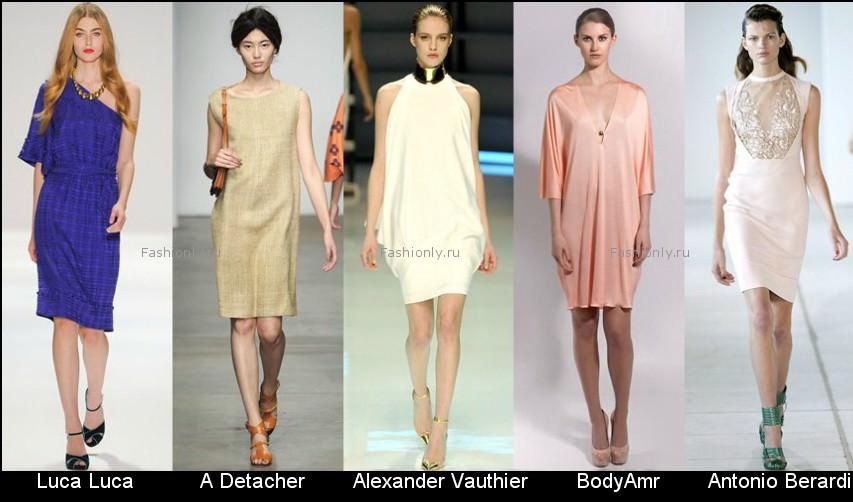Модные фасоны платьев 2012 фото (3)