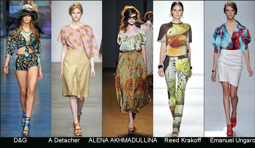Модные майки 2012 года Модные штучки на.