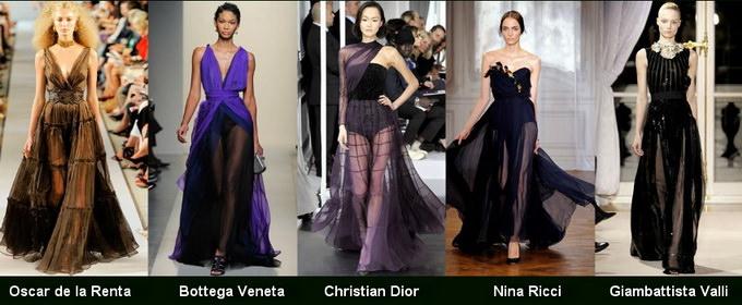 Модные вечерние платья 2012 фото (13)