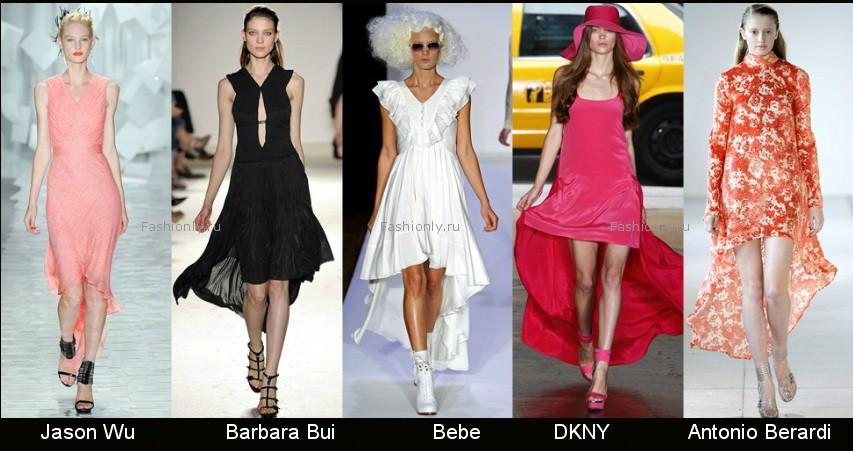 Модные фасоны платьев 2012 фото (2)